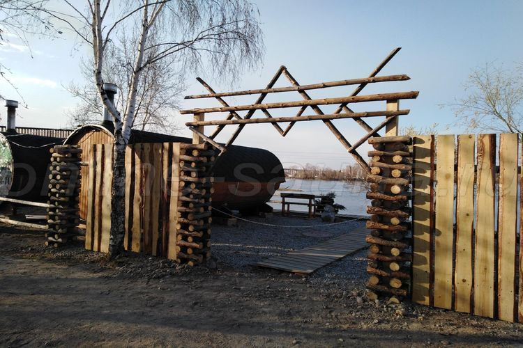 баня бочка якутск